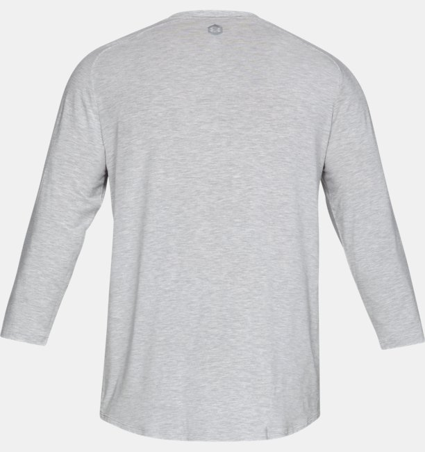 Mens Athlete Recovery Sleepwear™ Ultra Comfort 3/4 Henley Top
