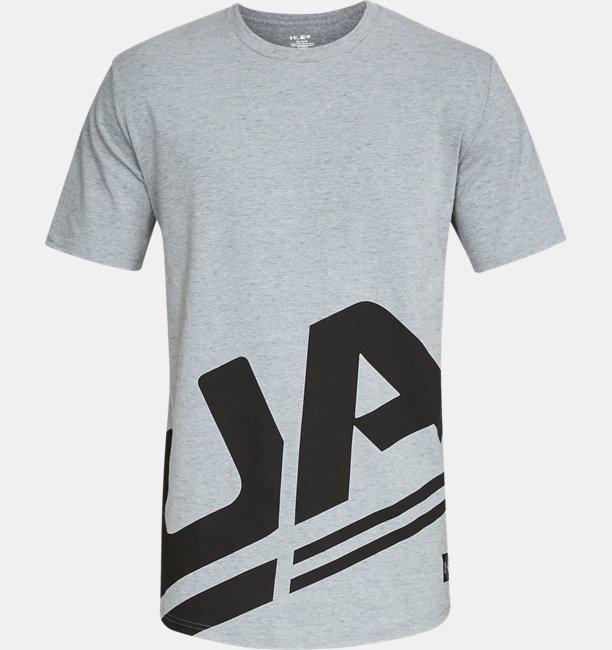 Mens UA Sportstyle Branded Short Sleeve