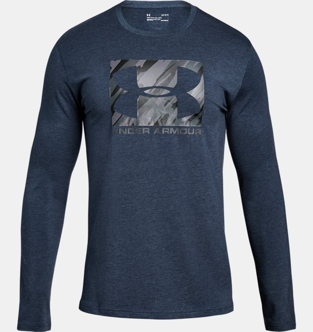 Mens UA Boxed Sportstyle Long Sleeve