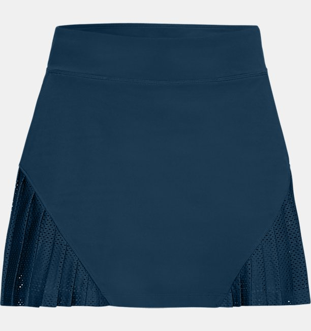 Womens UA Links Knit Mesh Skort