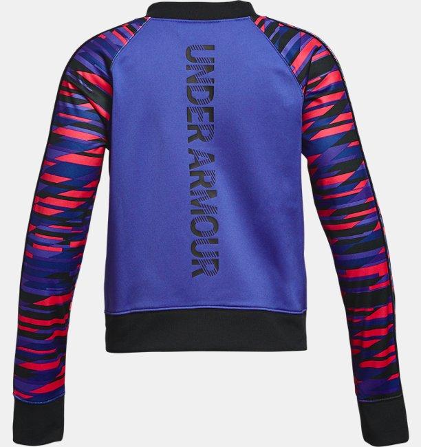 Kız Çocuk UA Track Ceket - Grafikli