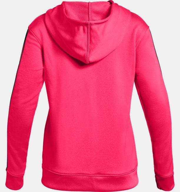 Girls UA Huddle Up Fleece Full Zip Hoodie