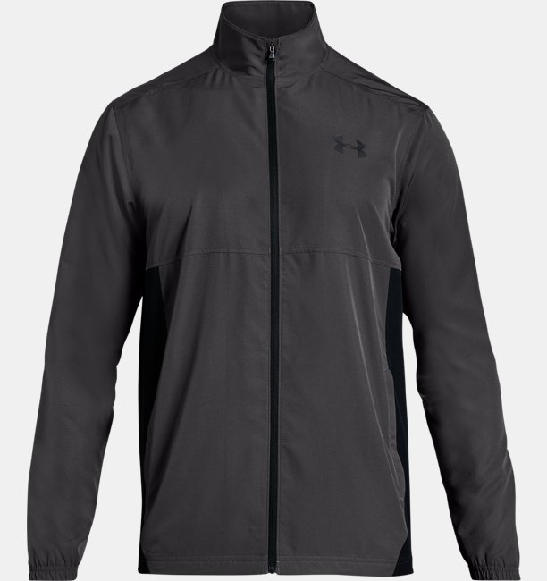 Mens UA Sportstyle Woven Full Zip Jacket