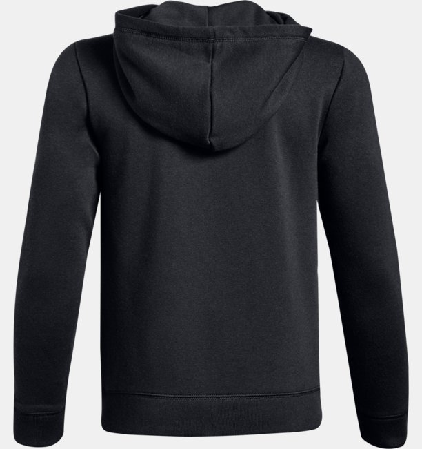 Boys UA Cotton Fleece Full Zip