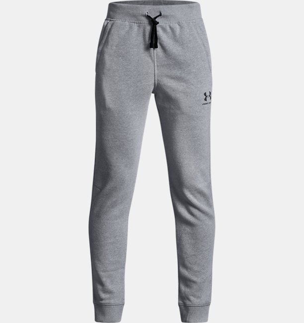 Boys UA Cotton Fleece Joggers