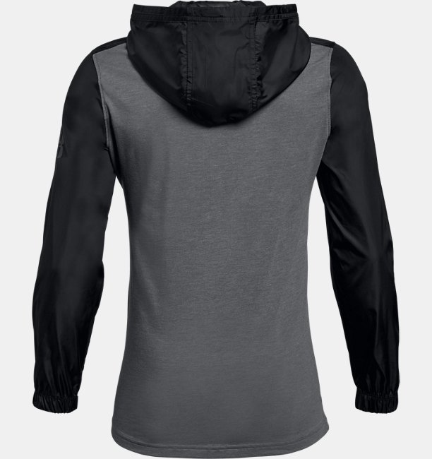 Boys UA Windwear ¼  Zip