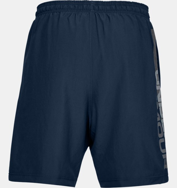 Mens UA Woven Graphic Wordmark Shorts