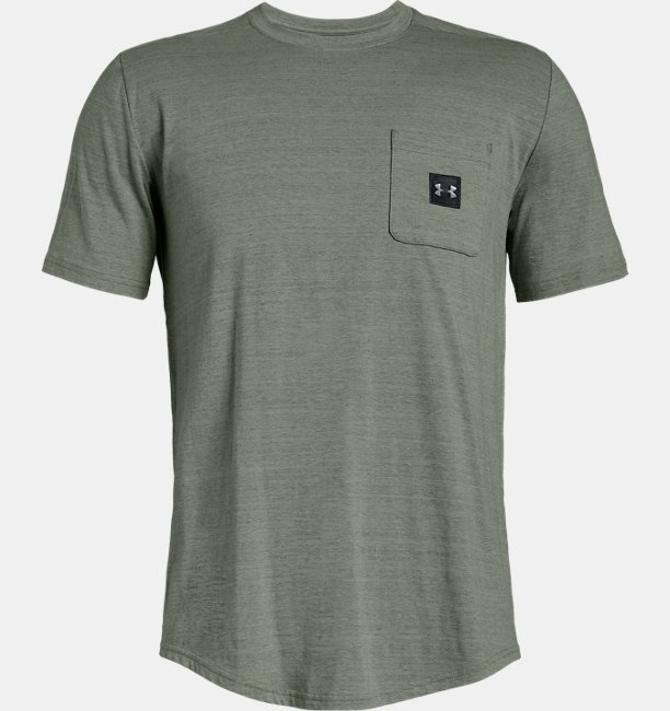 Mens UA Sportstyle Pocket T-Shirt