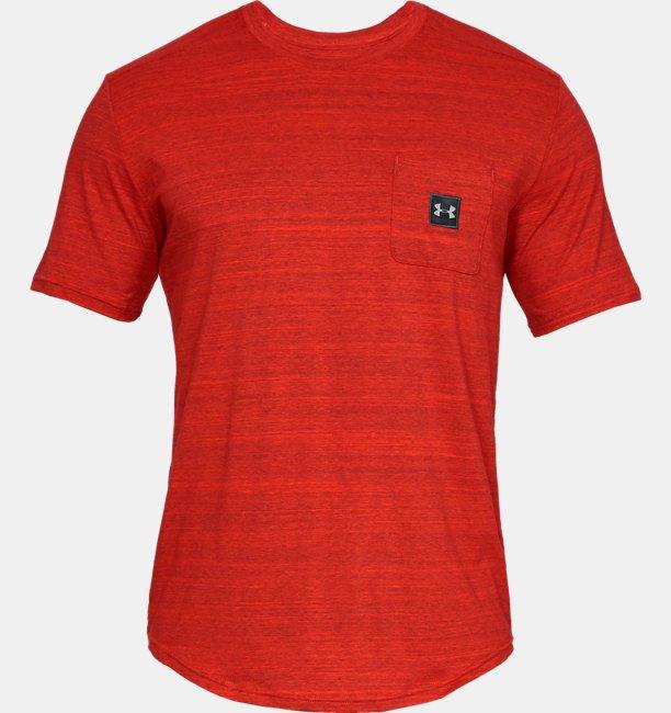 Mens UA Sportstyle Pocket T-Shirt