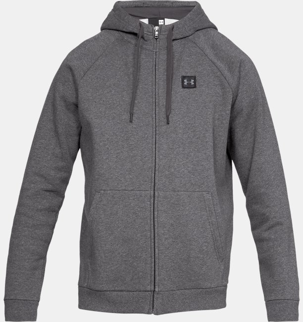 Mens UA Rival Fleece Full-Zip