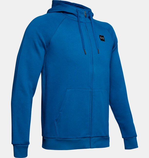 the best attitude e6c84 c89dd Felpa UA Rival Fleece Full-Zip da uomo