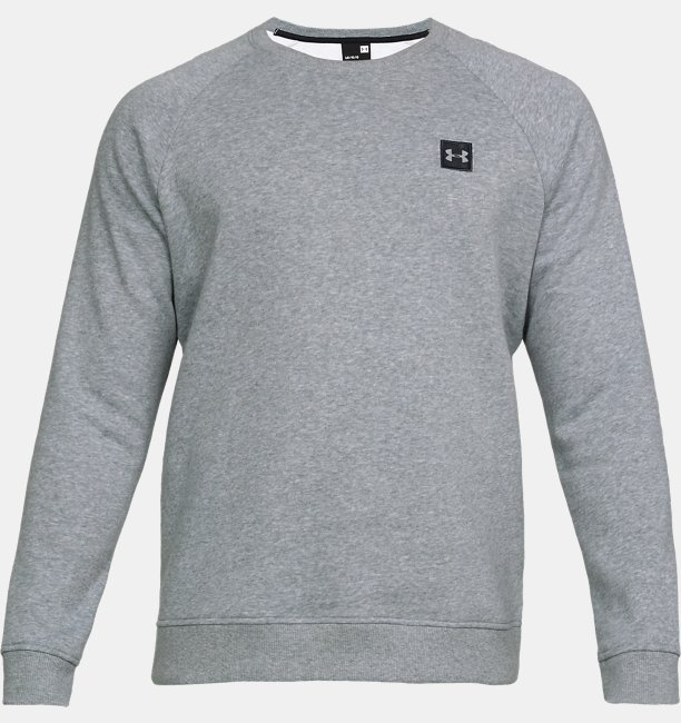 Mens UA Rival Fleece Crew