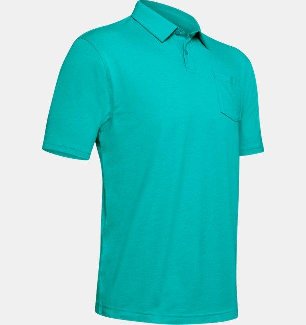 Mens Charged Cotton® Scramble Polo