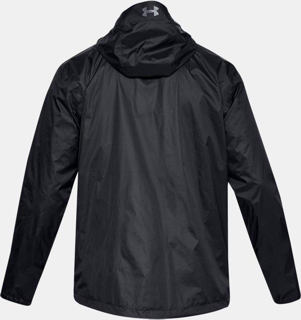 UAフォアフロント レイン ジャケット(トレーニング/MEN)