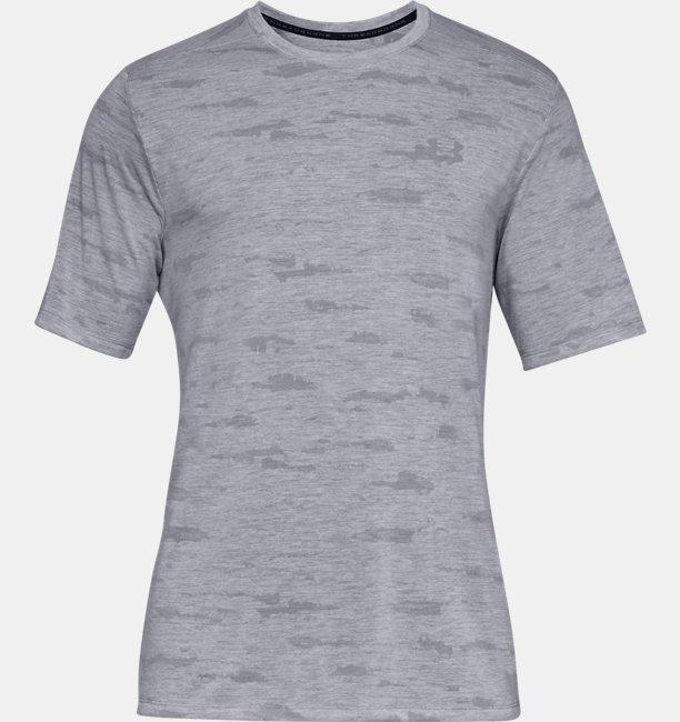 UAスレッドボーン プリント ショートスリーブ(トレーニング/Tシャツ/MEN)