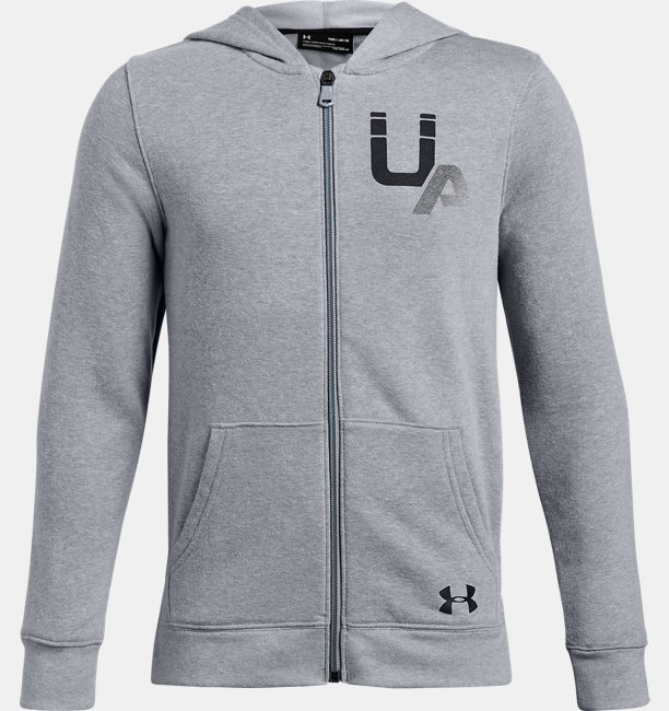 Boys UA Rival Logo Full Zip
