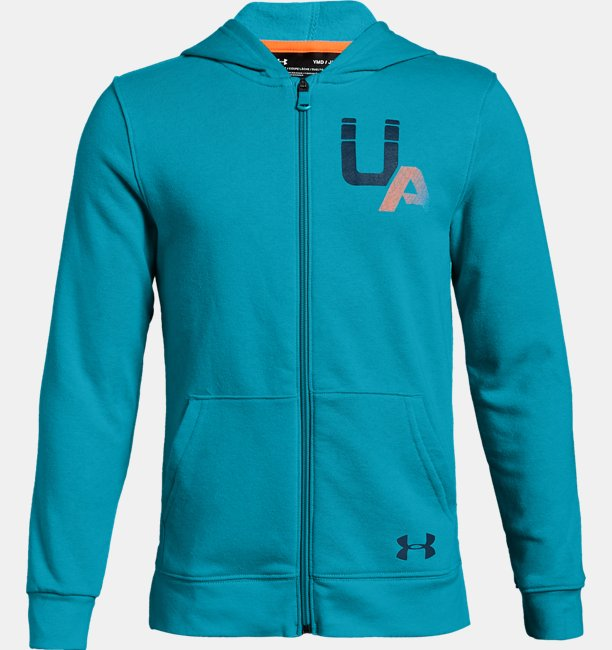 Boys UA Rival Logo Full Zip