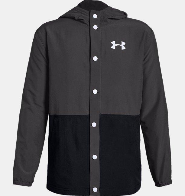Erkek Çocuk UA Phenom Fleece Coaches Ceket