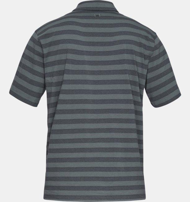 Mens Charged Cotton® Scramble Stripe Polo