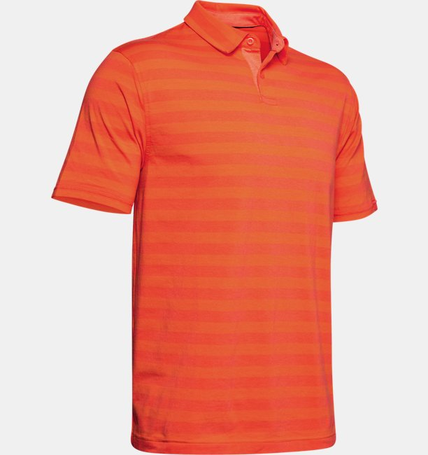 Mens Charged Cotton® Scramble Stripe Polo