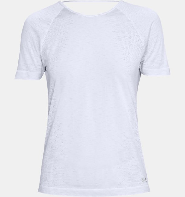 Camiseta de Treino Manga Curta Feminina Under Armour Microthread Seamless Spacedye