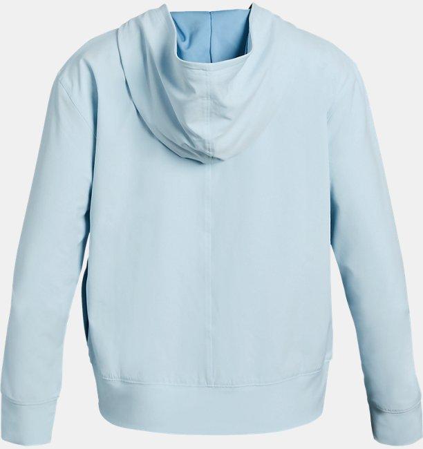 걸즈 UA 우븐 웜업 재킷
