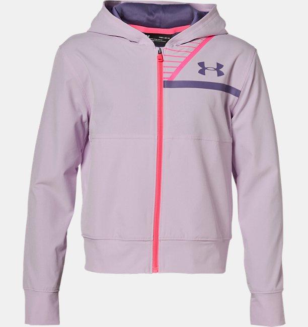 Girls UA Woven Warm Up Jacket