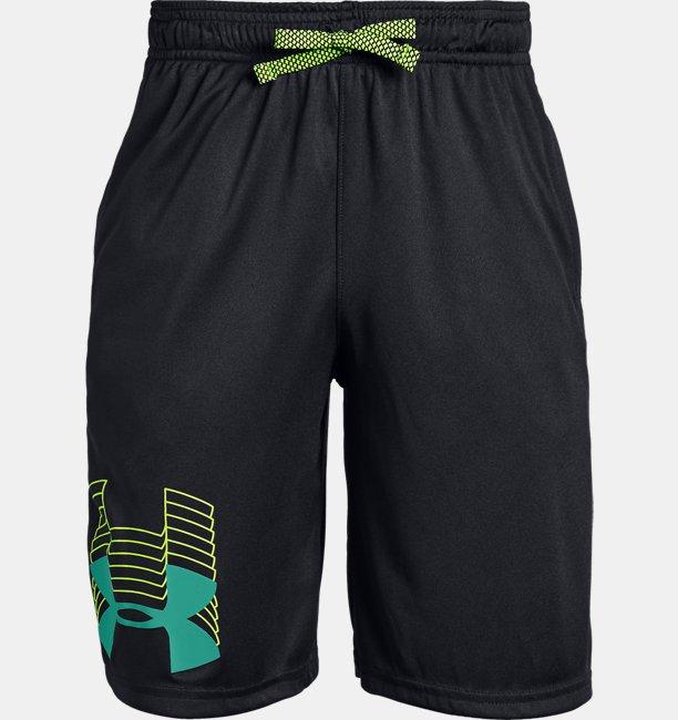 Boys UA Prototype Logo Shorts