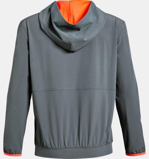보이즈 UA 라인드 우븐 재킷