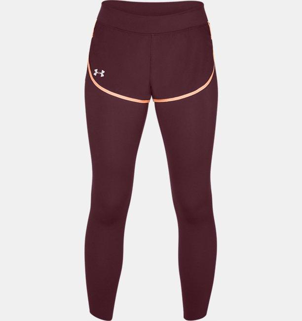 Womens UA Speedpocket 2-in-Runner Crop