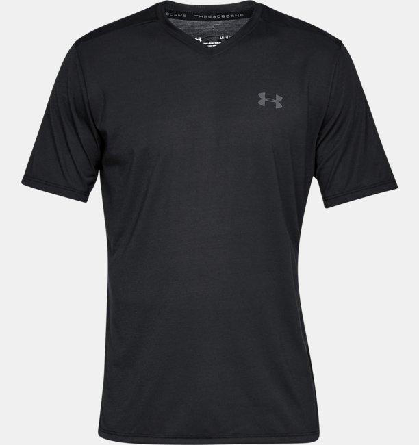 UAスレッドボーン ショートスリーブ Vネック(トレーニング/Tシャツ/MEN)