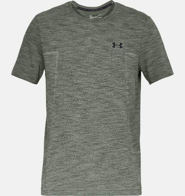 Mens UA Vanish Seamless Fade Short Sleeve