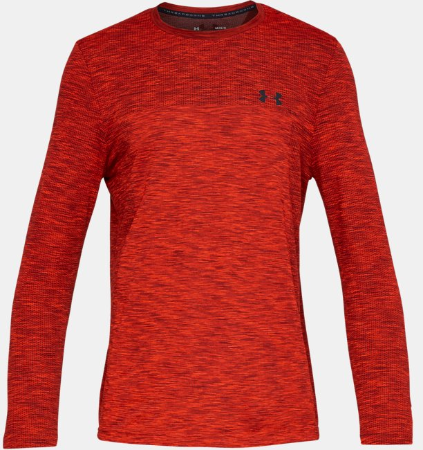Mens UA Vanish Seamless Long Sleeve