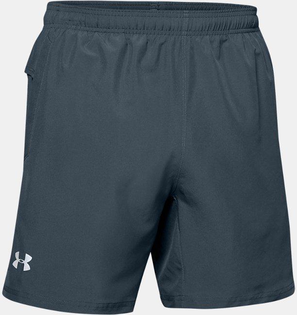 Mens UA Speed Stride Solid 18 cm Shorts