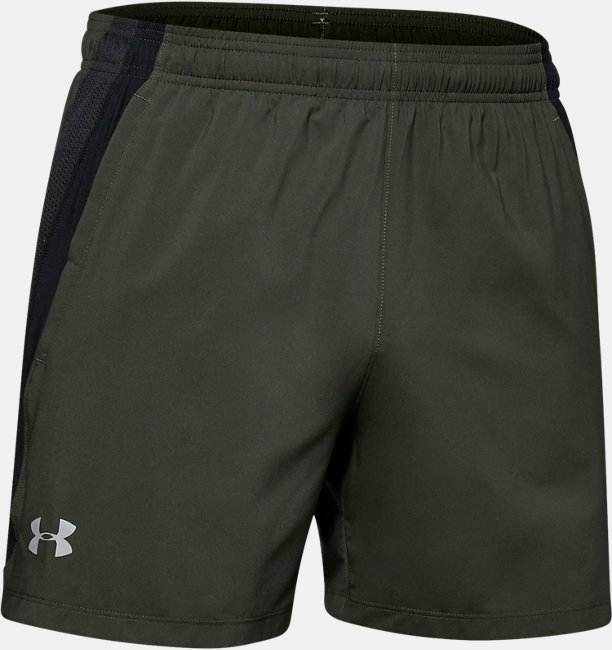 Mens UA Launch SW 15cm Shorts