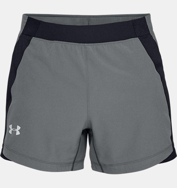 Celana Pendek UA Qualifier Speedpocket 12,7 cm untuk Pria