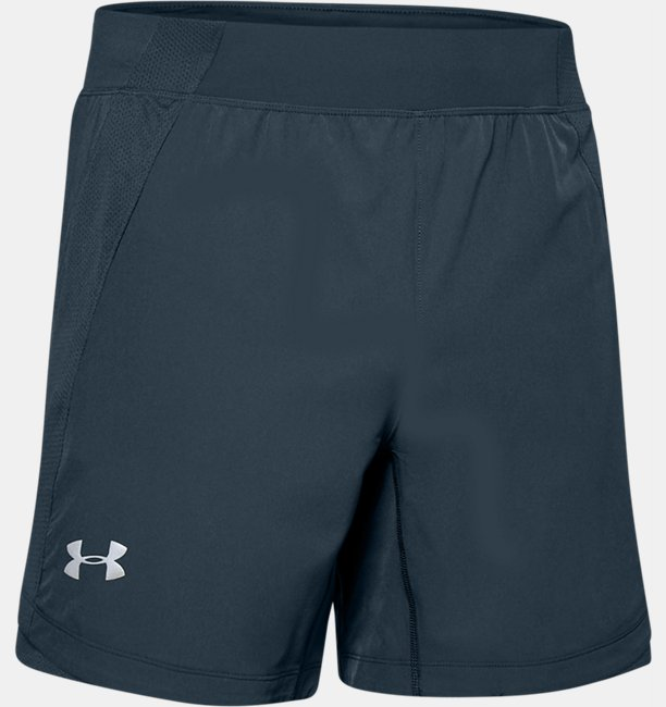 Mens UA Qualifier Speedpocket 7 Shorts