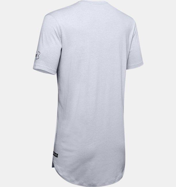 Camiseta de Basquete Manga Curta Masculina Under Armour Baseline