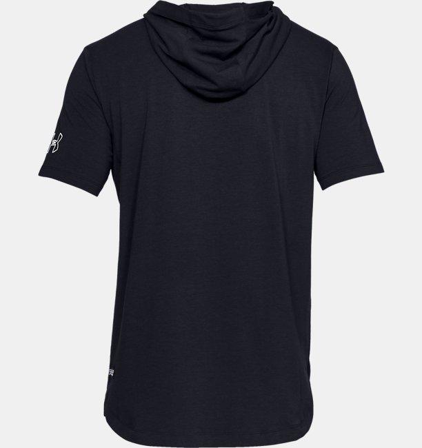 Mens UA Baseline Short Sleeve Hoodie