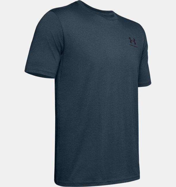 T-shirt à manches courtes UA Sportstyle Left Chest pour homme