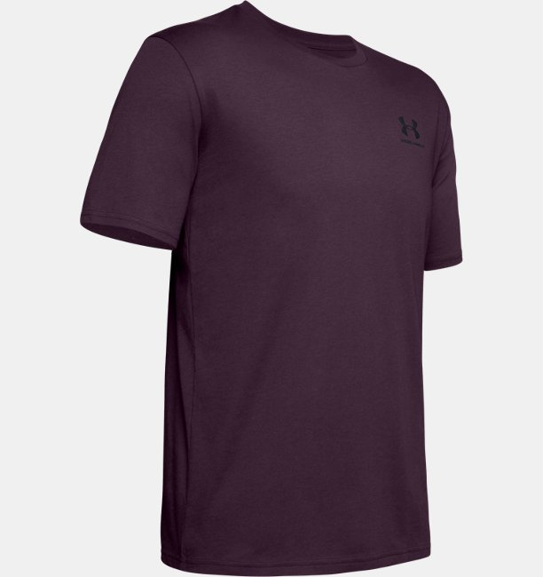 Mens UA Sportstyle Left Chest Short Sleeve Shirt