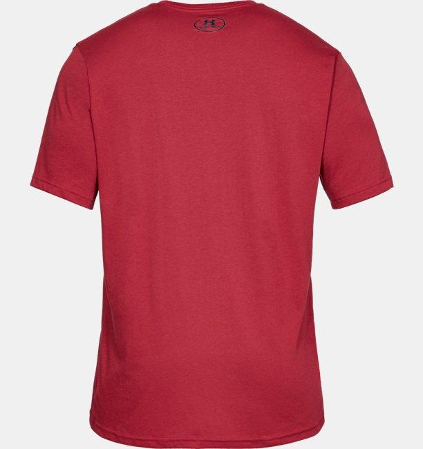 남성 UA 스포츠스타일 레프트 체스트 반팔 티셔츠