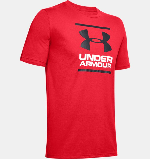 Heren T-shirt UA GL Foundation met korte mouwen
