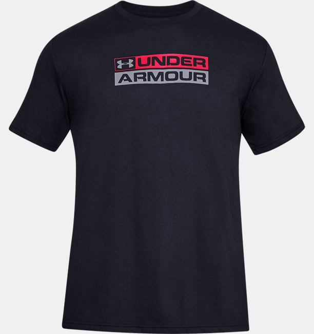 남성 UA GL 워드마크 반팔 티셔츠