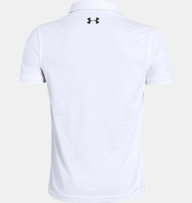 Playera Polo UA Tour Tips Engineered para Niño