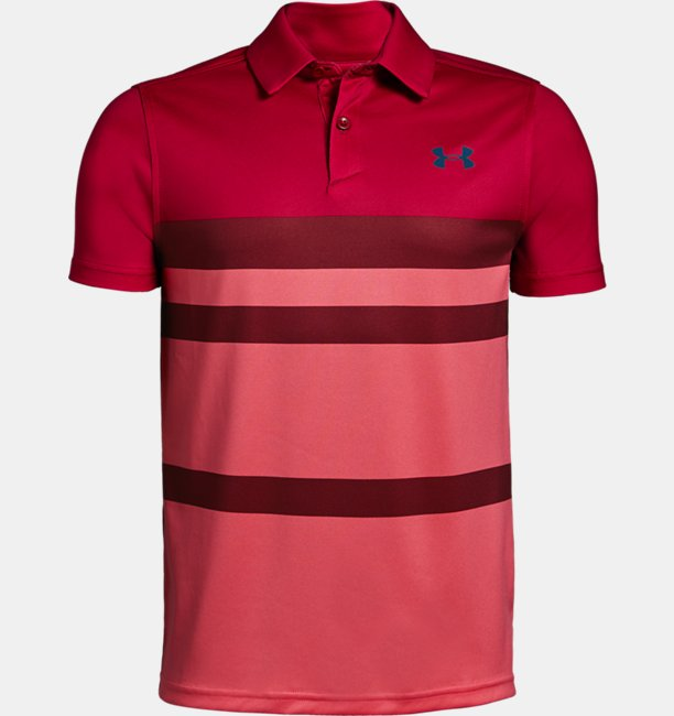 Boys UA Vanish Engineered Polo