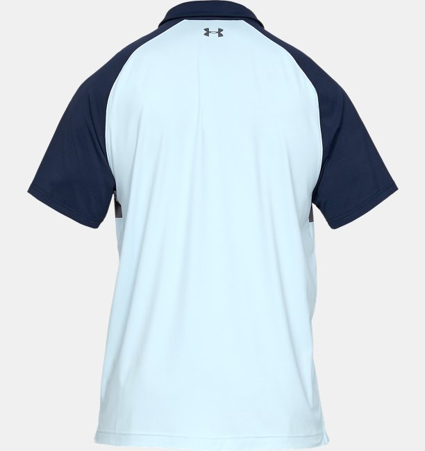 Mens UA Iso-Chill Block Polo