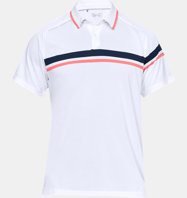 Mens UA Vanish Drive Polo