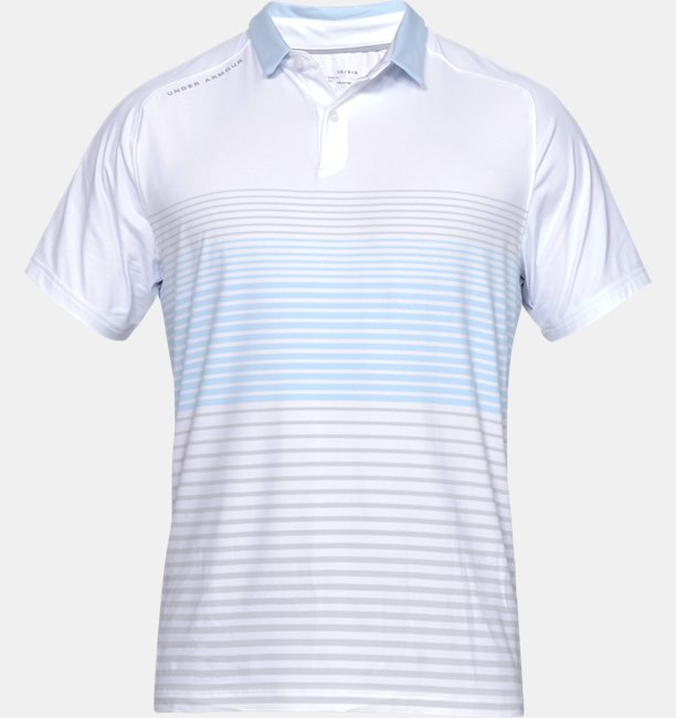 Polera Polo UA Iso-Chill Power Play para Hombre