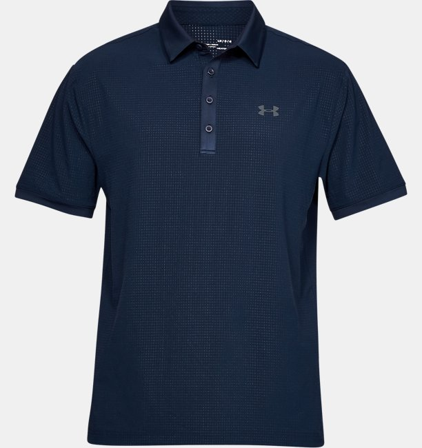 Mens UA Playoff Vented Polo